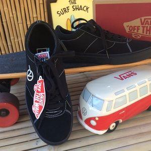 Vans Logo Parodoxx Black On Black Low Top Sneakers